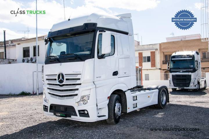Mercedes-Benz Actros 1848 LS 4x2 BigSpace RETARDER, Side Skirt - 2017