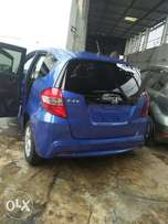 Blue Honda fit buy and drive