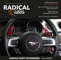 paddle shift extenders