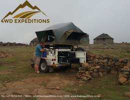 Hire A Fully Equipped Camping Trailer From R375 p/d - Jurgens XT120
