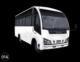 School bus on offer,deposit 5% or 243k monthly 107k for 5 years