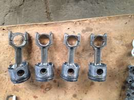 BMW E90 320D M47T pistons with conrods for sale