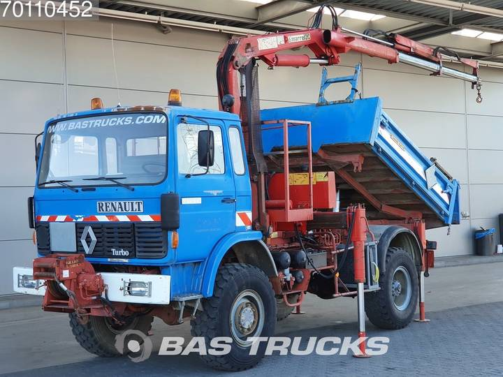 Renault 110 150 4X4 Manual Big-Axle Steelsuspension HMF A102 K2-B2. - 2001