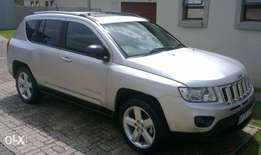 Jeep compass 2.0 LTD Silver