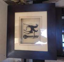 2 x Original Copies of Greek God Figurines in Box Frame for Sale!