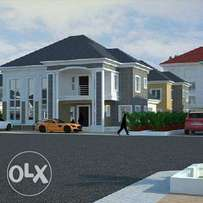 600sqm for 3milion land for four bedroom duplex located in LugbeFHA