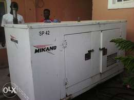 SP 42KVA Mikano Generator for sale at N2.5m in Mpape