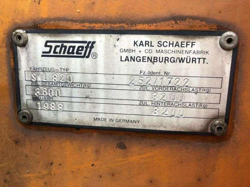 Schaeff Skl 820 **bj1988 *4120h** - 1988 - image 15