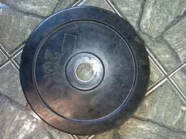 1x20kg Olimpic weight plate.