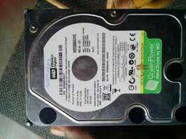 westen digital 500GB harddriver