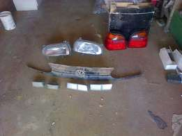 Vw golf 3 lights,steering and grill