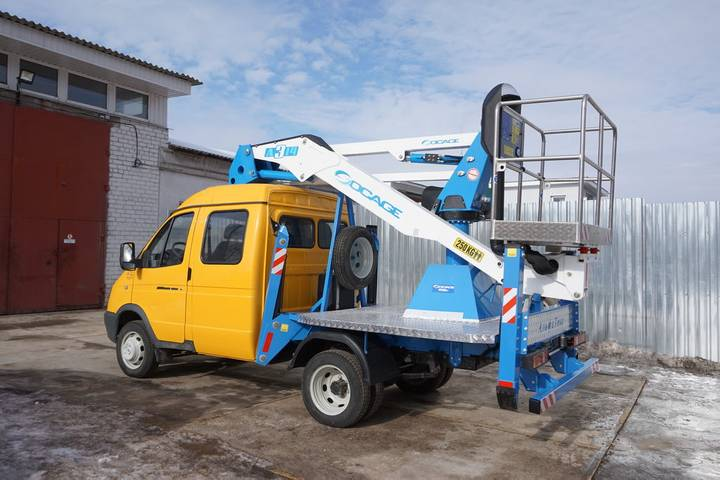 Socage New  A314 na shassi GAZ-33023 bucket truck - 2019