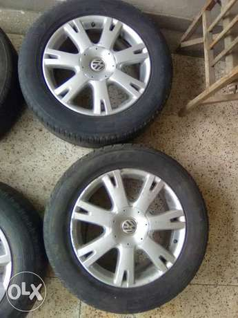 VW tyres 255/55 R18 South B - image 1