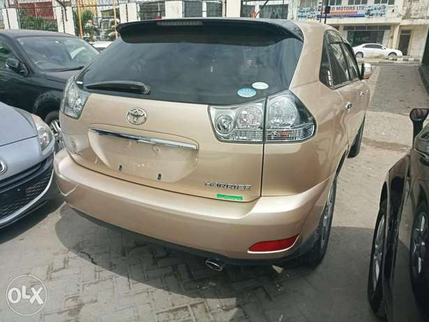 Toyota Harrier Gold KCP number Mombasa Island - image 2