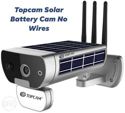 Wifi Battery Cam Solar