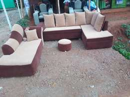 L seat 6 seater plus Sofabed