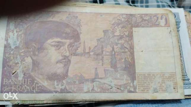 French Franc Banknote