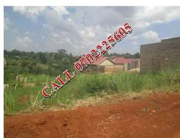 Wonderful 30 decimals plot for sale in Namugongo-Sonde at 80m