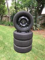 New 15 inch Kumho rims and tyres