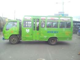 Mini bus for sale operating in Nairobi