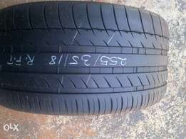 Michelin runflat tyre for sale