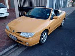Renault Megane Convertible 1.6 1998 on month end special R39500
