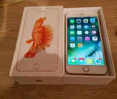 Never been used iPhone 6s plus in gold colour