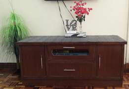 TV Cabinet; 1 year Old