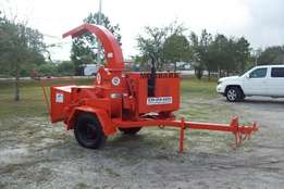 Wood Brush Chipper 12 Capacity, Disc Style