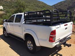 Toyota Hilux Double Cab Hunting Rail Frame