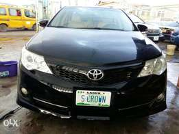 Toyota camry registered 2013