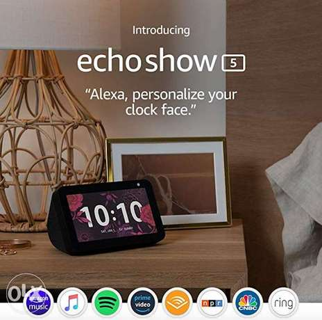 Echo Show 5 smart display with Alexa