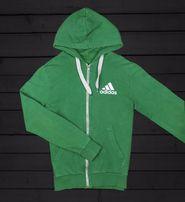 Zielona bluza na zamek Adidas Zielona Góra • OLX.pl