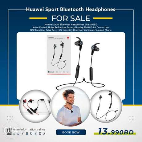Huawei AM61 Sport Bluetooth Headphones Lite 5G/ear fit and secure High
