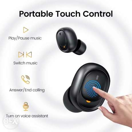 Ugreen Bluetooth Earphone 5.0 TWS True Wireless Earbuds Stereo Handsfr الرياض -  2