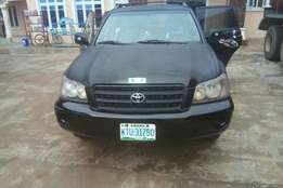 Clean registered Toyota Highlander for sale or swap wit nice car