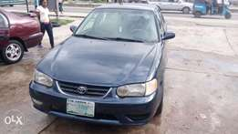 For sale Toyota corolla 2000 model