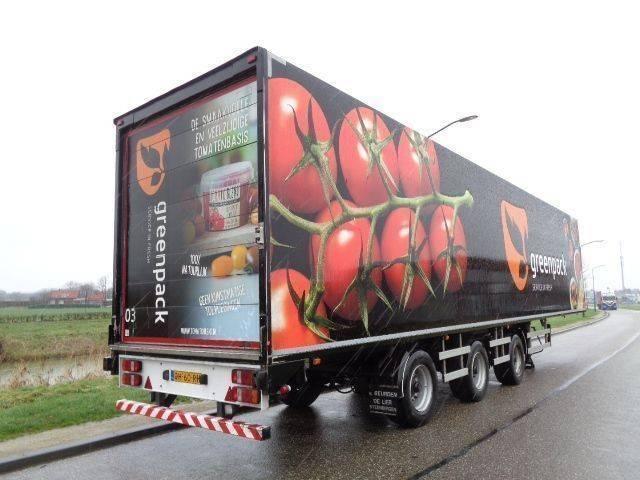 - Draco 3-axle closed box / BPW /2x Steering axle / NL - 2004