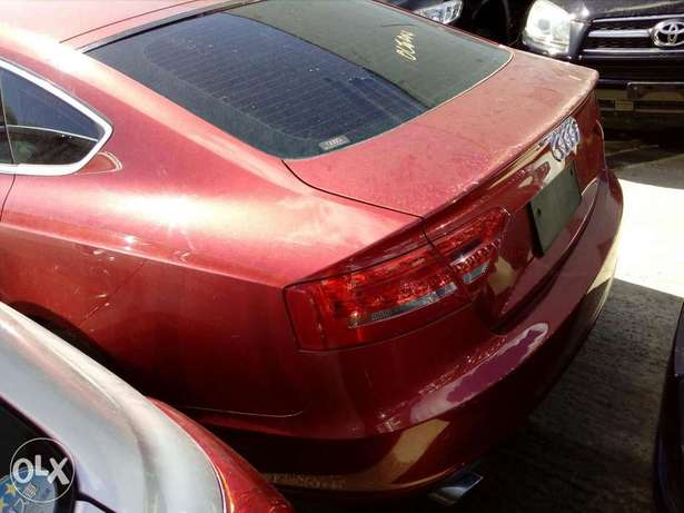 Audi A4 red colour new plate number Mombasa Island - image 5