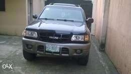 Reg Isuzu Rodeo 01 - AC chilling