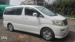 toyota alphard 2005 super clean kas 0ne owner 2400cc buy and drive