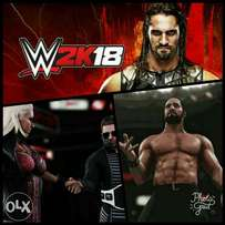 WWE 2K18 PC Game