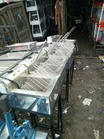 Deep fryer frier double and single