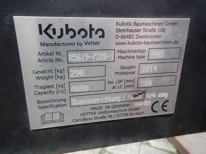 Kubota R085 - 2015 - image 6