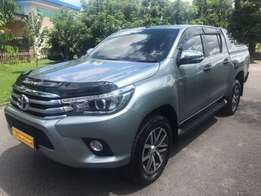 Toyota hilux double cab revo brand 2017 diesel finance accepted