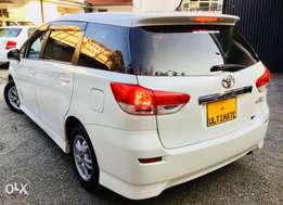 toyota wish 2010 model Kcp just arrived special offer 1,250,000/=o.n.o