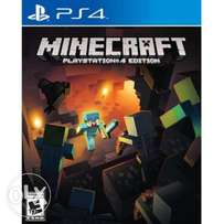 Mine craft for PlayStation 4