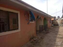 Two bedroom semi detached bungalow at Lugbe