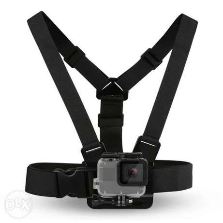 Chest Strap mount belt for Gopro hero And Action Cameras جونيه -  2