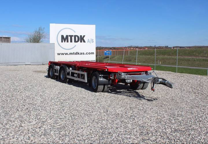 AMT New  AO365 container chassis trailer - 2017